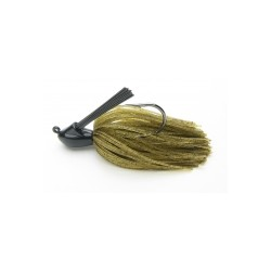 Keitech ruber jig model I 101 green pumpkin pepper