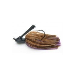 Keitech ruber jig model I 008 brown purpled