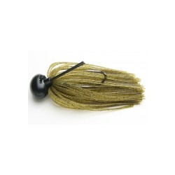 Keitech ruber jig model II 101 green pumpkin pepper