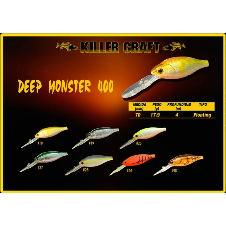 Killer Craft Deep Monster 400