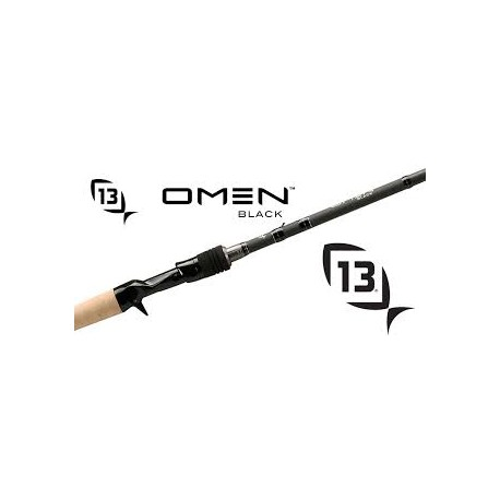 13 Fishing Omen Black II 7.3 H Casting