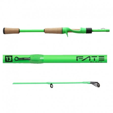 13 FISHING Fate Black GEN 2 7.1' MEDIUM Casting