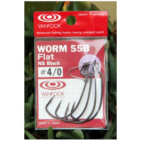 VanfookWorm 55 Offset Hook