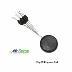 6Th Sense Peg-X Stoppers - 9pk