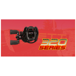 320 Series Reel Black - 5.3:1
