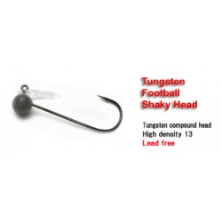 Keitech Tungsten Football Shaky Jig Head 2.7g