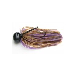 Keitech ruber jig model II 008 brown purpled